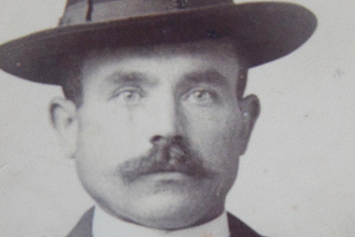 Photo de Fortuné Robert, créateur du domaine en 1906