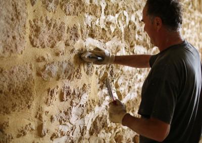 Restauration des murs