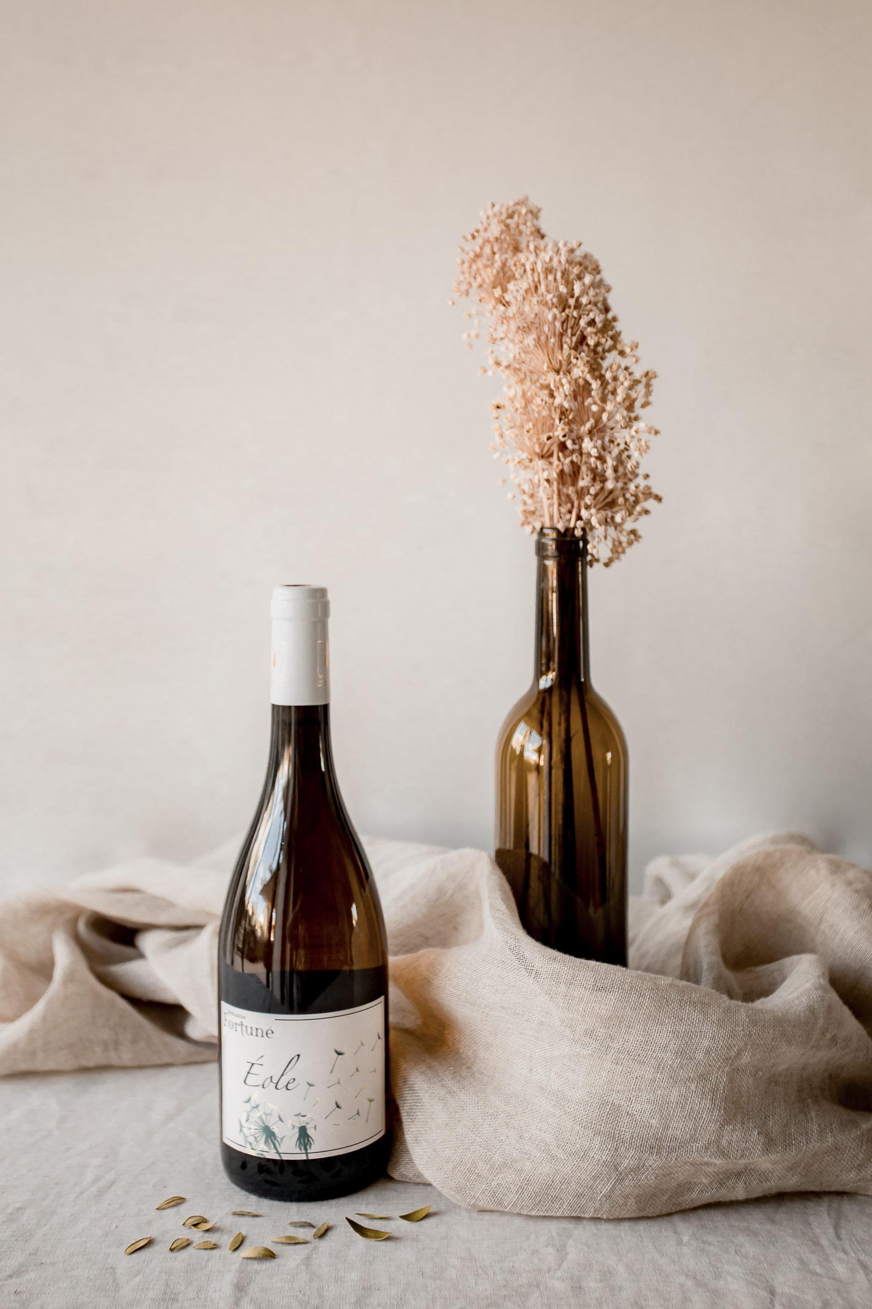 Vin bio rouge Jadis : bouteille